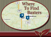 Where To Find Baxter's